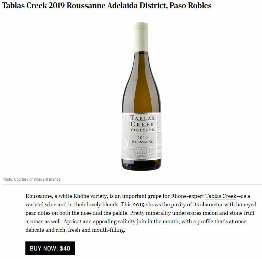 Robb Report 2019 Roussanne