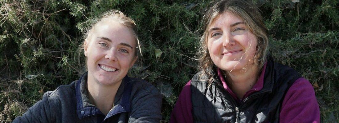 Jenny Wootten and Lauren Danna