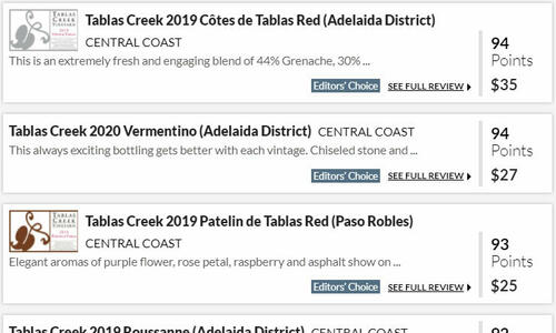Wine Enthusiast Five New Reviews Summer 2021