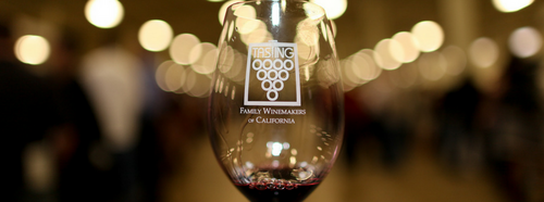 Family Winemakers Bottle Event Shot