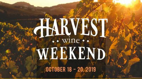 Harvest Wine Weekend 2019