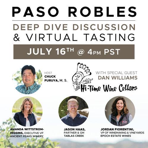 Paso Robles Deep Dive Square