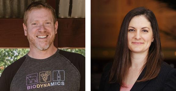 Erin Brooks and Jason Haas
