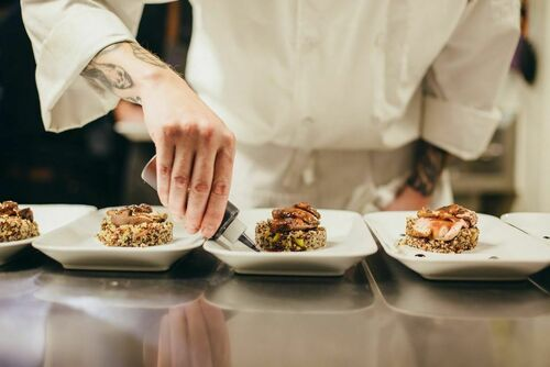 Wineworks chef preparing dishes