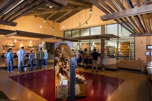 Tablas Creek Zoom Background Tasting Room
