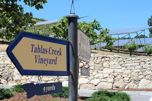 Tablas Creek and Beaucastel Signs