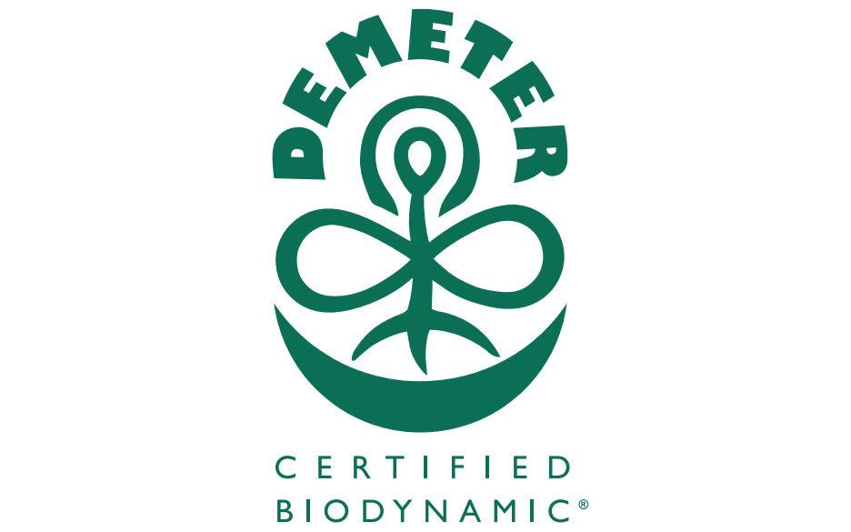 Demeter Certified Logo Horizontal