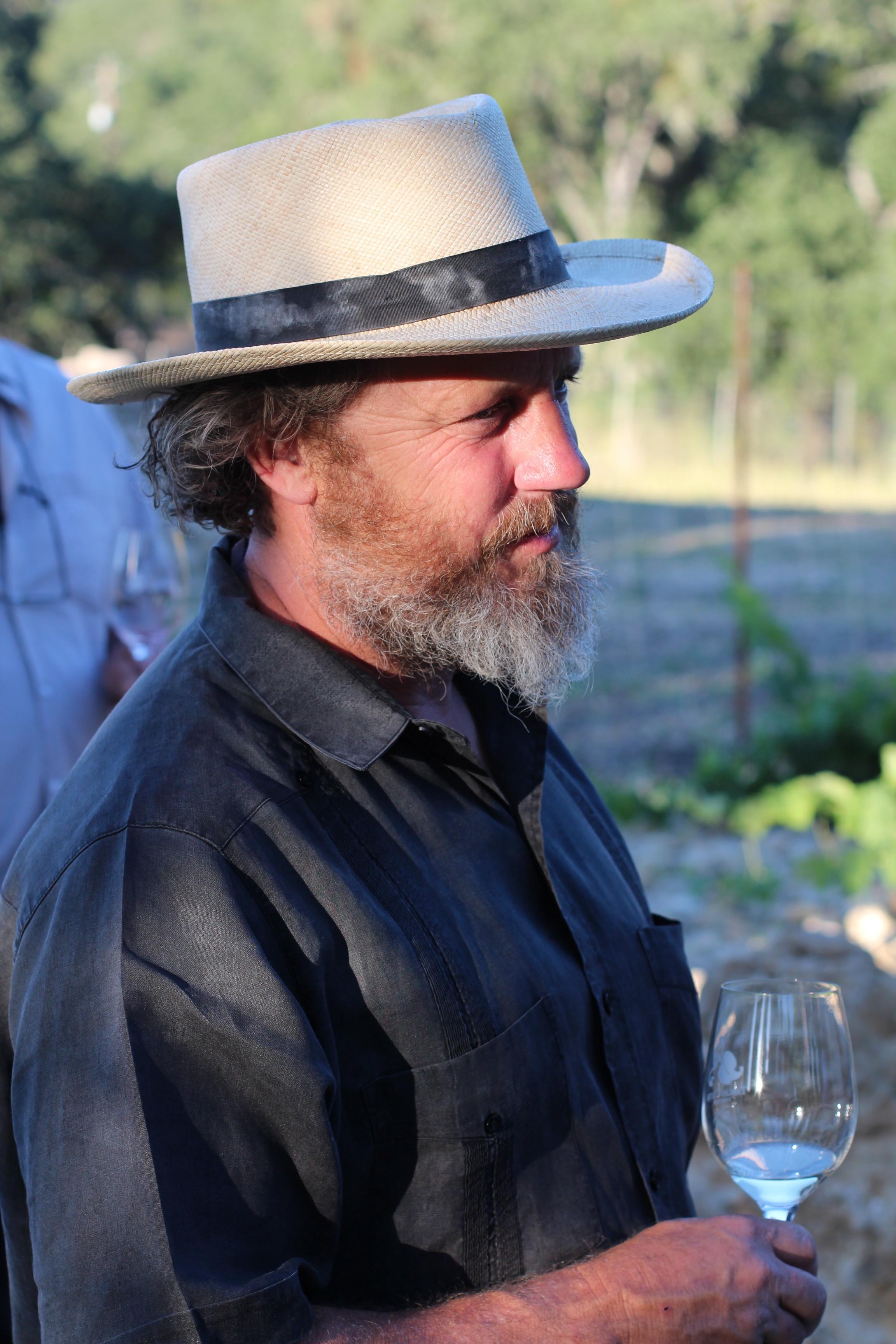 Neil Collins Tablas Creek Winemaker