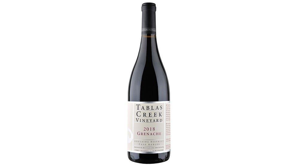 Robb Report Tablas Creek Grenache 2018 Bottle