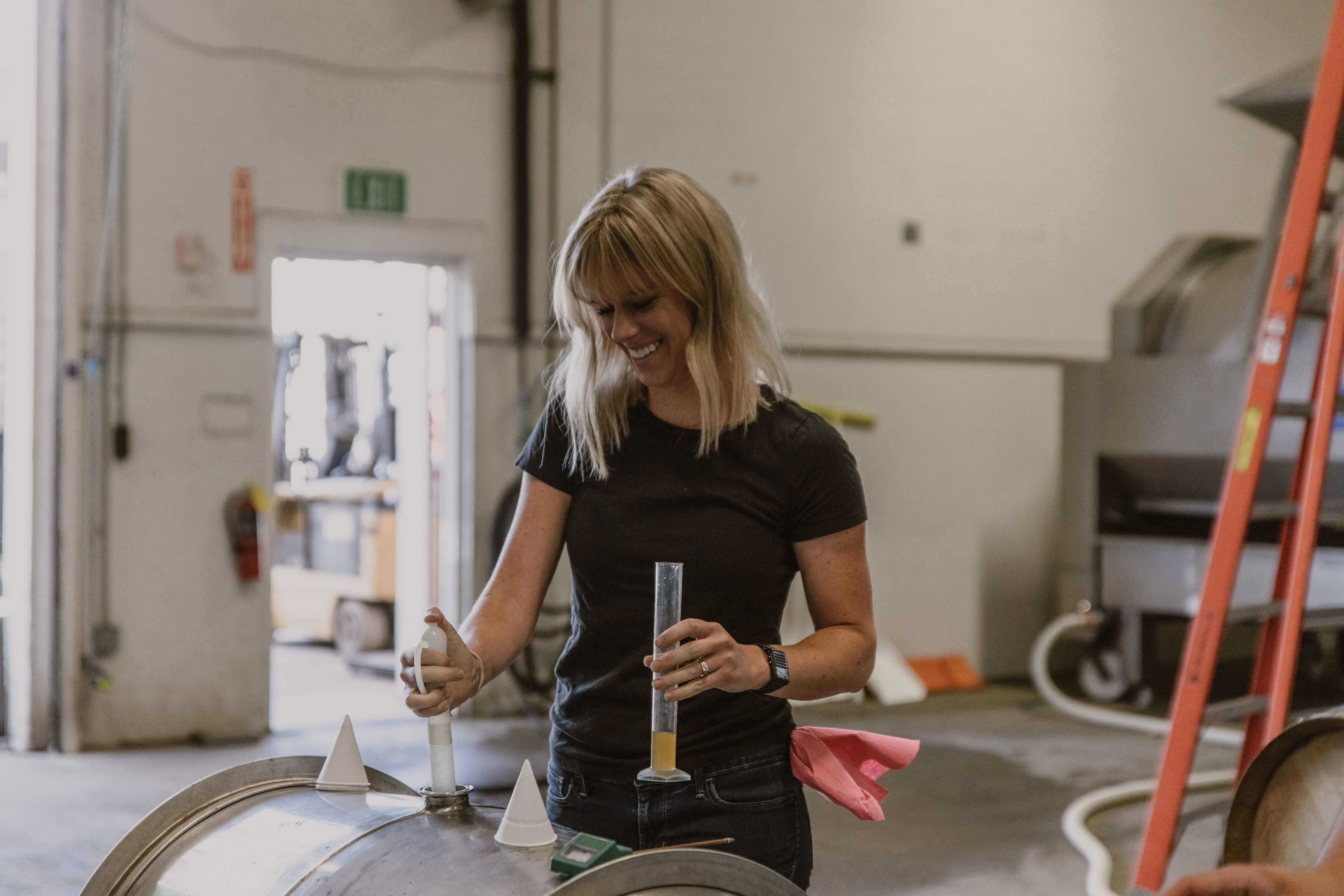 Senior Assistant Winemaker Chelsea Franchi