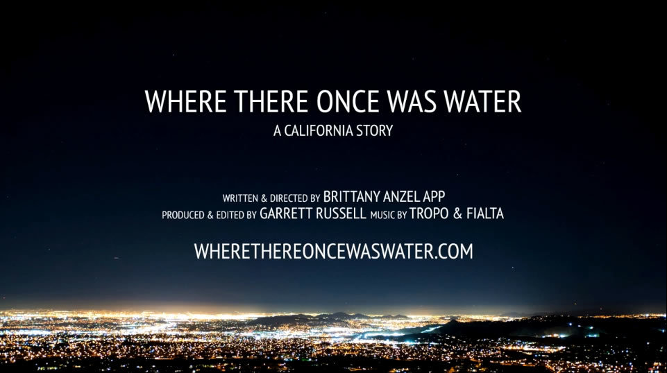 Where There Once Was Water
