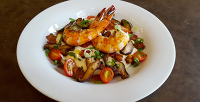 Image of Grilled Shrimp and Grits